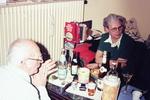Trinken am Tisch