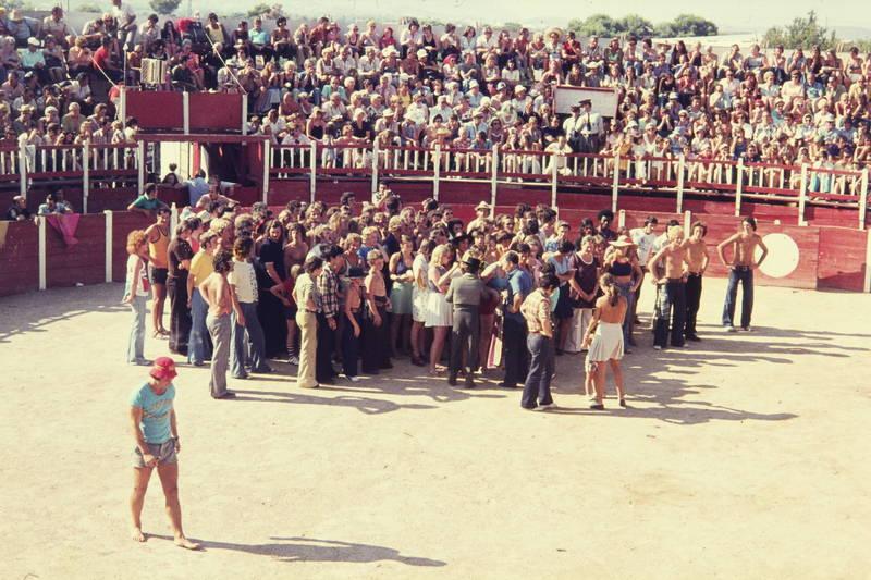arena, Kampffläche, Sommer, Stier, stierkampf, Stierkampfarena, urlaub, Urlaubsreise, Zuschauer