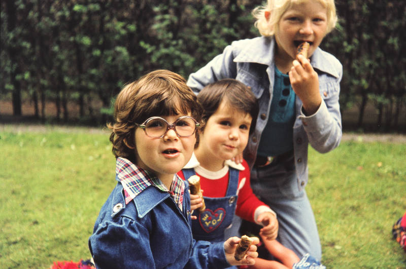 Jeans, Kindheit, würstchen