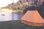 Zelten am Wasser