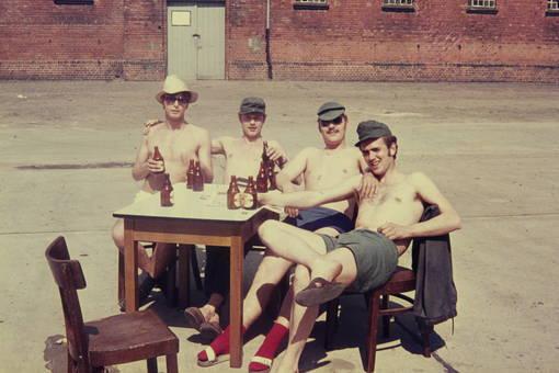 Ein Bierchen unter Kameraden