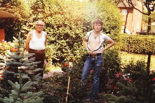 In Großvaters Garten