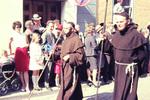 Mönche auf dem Festzug