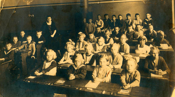 Klassenfoto 1925