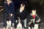 Stolze Hundebesitzer