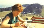 Schreiben in der Sonne