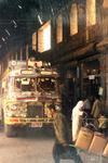 Bus vor Basar