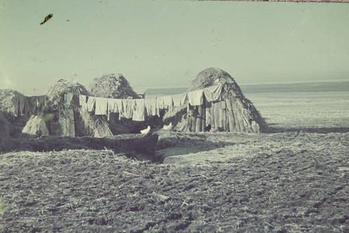 Strohhütten
