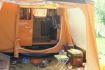 Leben auf dem Campingplatz