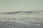Feld mit Häusern