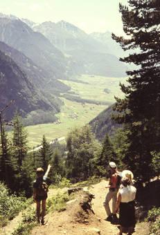 Bergabstieg