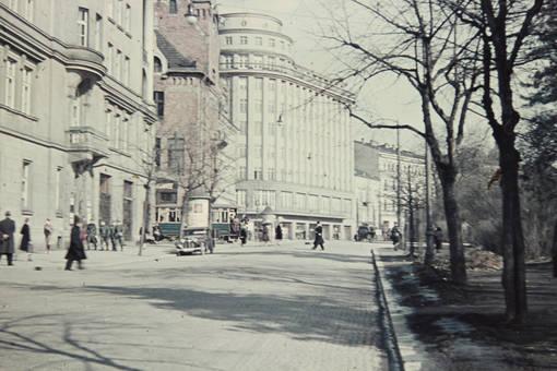 Städtische Fußgängerzone