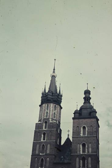 Fenster, Himmel, kirche, Krakau, Kraków, Kreuz, marienkirche, Polen, Religion, turm