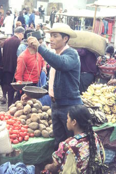 Markt in Chichicastenango