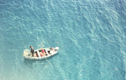 Auf einem Fischerboot
