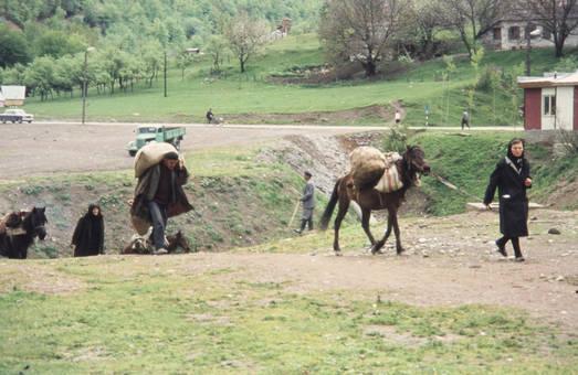 Transport von Säcken