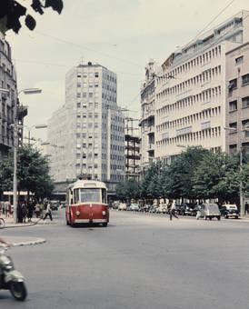 Oberleitungsbus in Belgrad