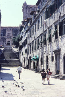 Gasse in Dubrovnik