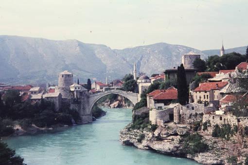 "Bogenbrücke ""Stari Most"""