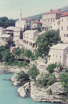 Ausschnitt von Mostar
