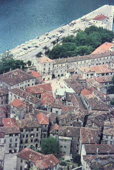 Blick auf Kotor