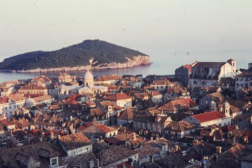 Luftaufnahme Dubrovnik
