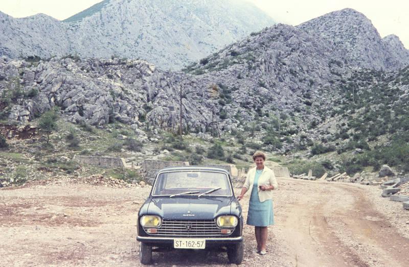 auto, Cetina-Fälle, fahrt, KFZ, Peugeot 204, PKW, ST-162-57
