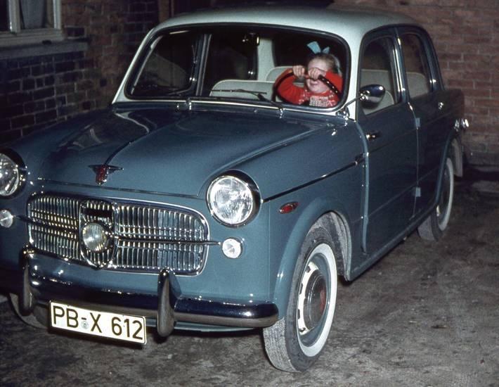 auto, Kindheit, lenkrad, NSU-FIAT 1100, Schleife