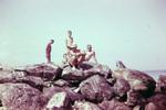 Steinvorsprung für Schwimmer