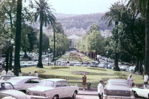 Parken in Genua