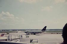 Flugzeug kurz vorm Start