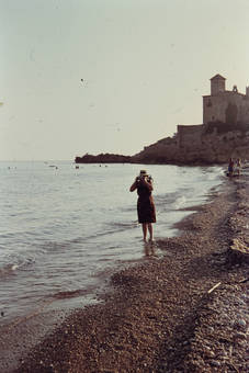 Foto am Strand