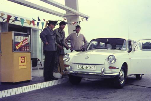 Luftdruck für den VW