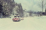 VW's im Schnee
