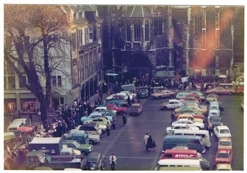 Flohmarkt Katschhof 1978