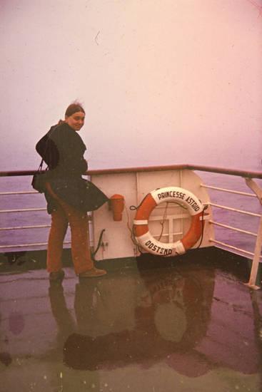 gewässer, Princesse Astrid, Reling, rettungsreifen, rettungsring, schiff, Schifffahrt