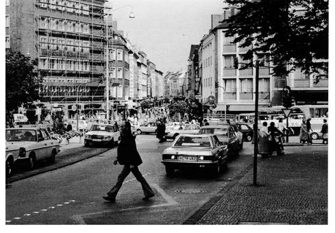 Blick zu Adalbertstraße