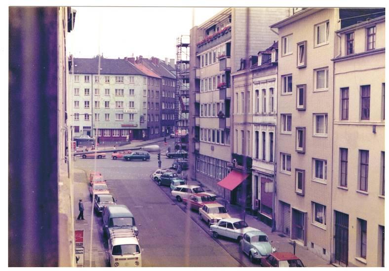 Aachen, Ford-Transit, Jülicherstrasse, mercedes/8, Ottostraße, VW-Bulli