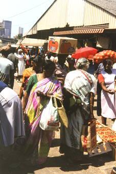 Markt in Durban