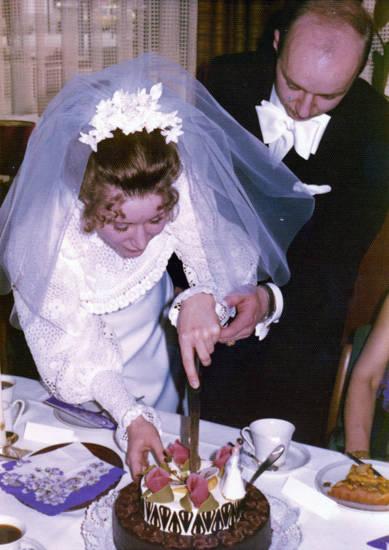 Braut, Brautpaar, Hochzeit, Hochzeitstorte, torte