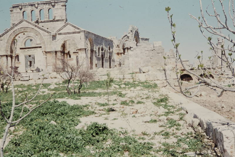 Ruine, Syrien, Tempel