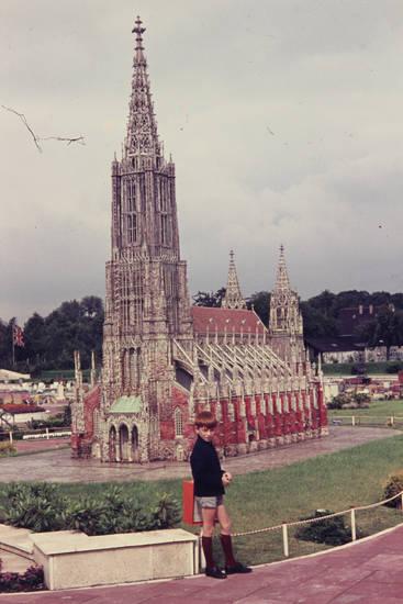 ausflug, ausstellung, Kindheit, kirche, Miniaturpark, minidomm, modell, Ulmer Münster