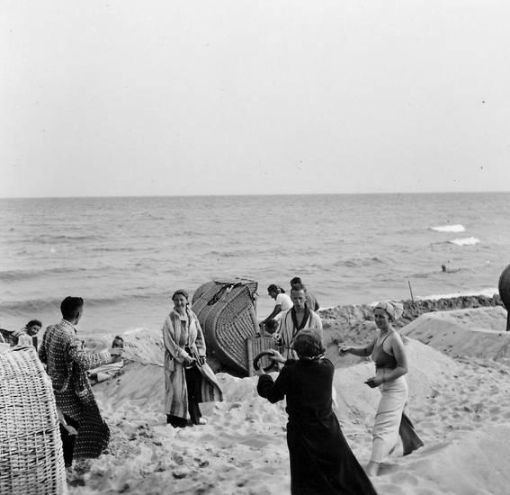 freizeit, ostsee, Ring, strand, Strandkorb, urlaub