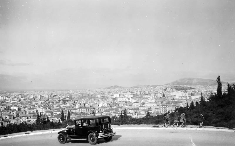 Akropolis, Antike, Athen, auto, Griechenland, KFZ, Panorama, PKW