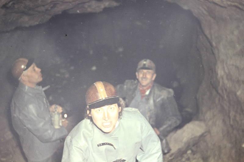1978, 1978 Herne, Arbeitskleidung, ausflug, Bergwerk, besichtigung, kleidung, oberpfalz, Stollen, urlaub