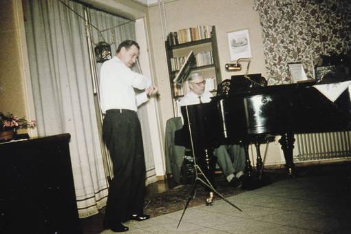 Musik im Wohnzimmer