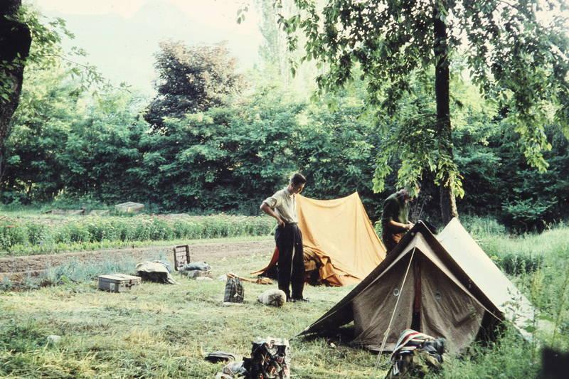 ausflug, Austausch, camping, zelt, zelten