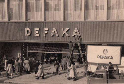Das Kaufhaus Defaka
