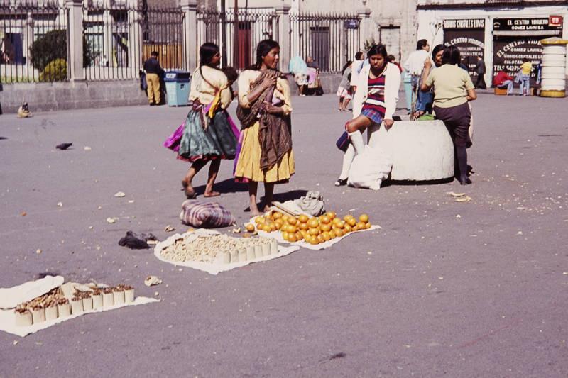 Decke, mexiko, mexiko-stadt, Obst, Orange, Platz, Straßenstand