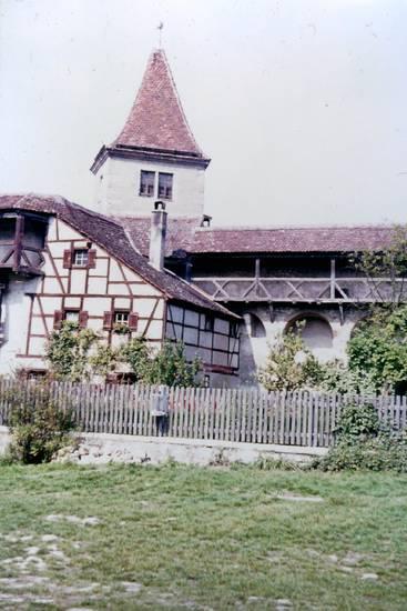 burg, burghof, Schloss